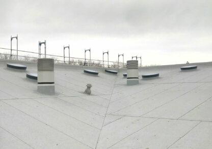 SkyVision CIRCULAR - runde Flachdach-Oberlichter für Dachneigungen bis 30°