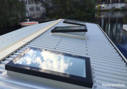 Refernz: Auf einem Schiff montierte Flachdach Oberlichter SkyVision COMFORT