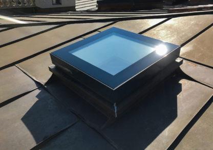 Ausstiegsfenster SkyVision ACCESS auf den Dächern der Orangerie SansSouci