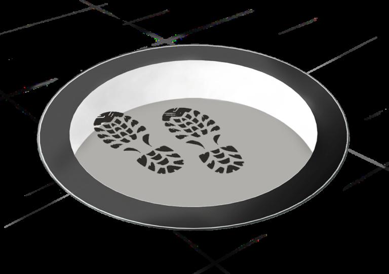 SkyVision CIRCULAR WALK-ON – rundes, begehbares Oberlicht (Skylight) und barrierefreie Glasfläche